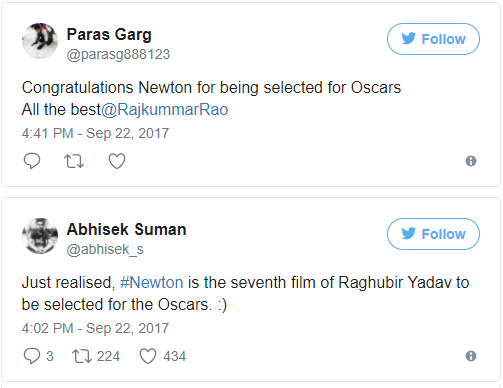 Rajkummar Rao-Starrer Newton Is India's Official Entry To Oscars