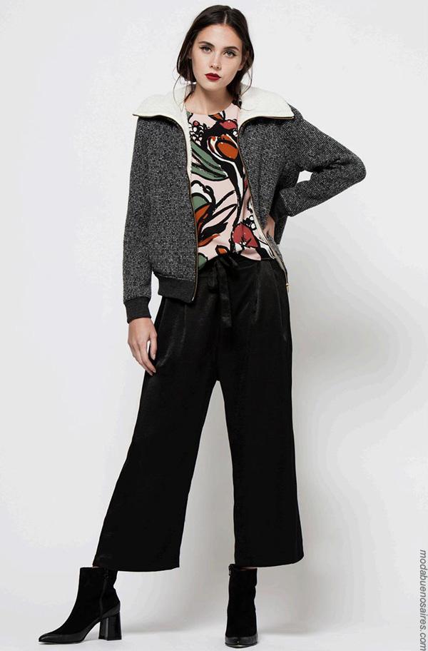 Moda invierno 2017 ropa de mujer 2017 moda.