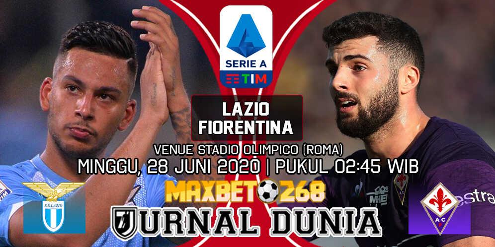 Prediksi Lazio vs Fiorentina 28 Juni 2020 Pukul 02:45 WIB