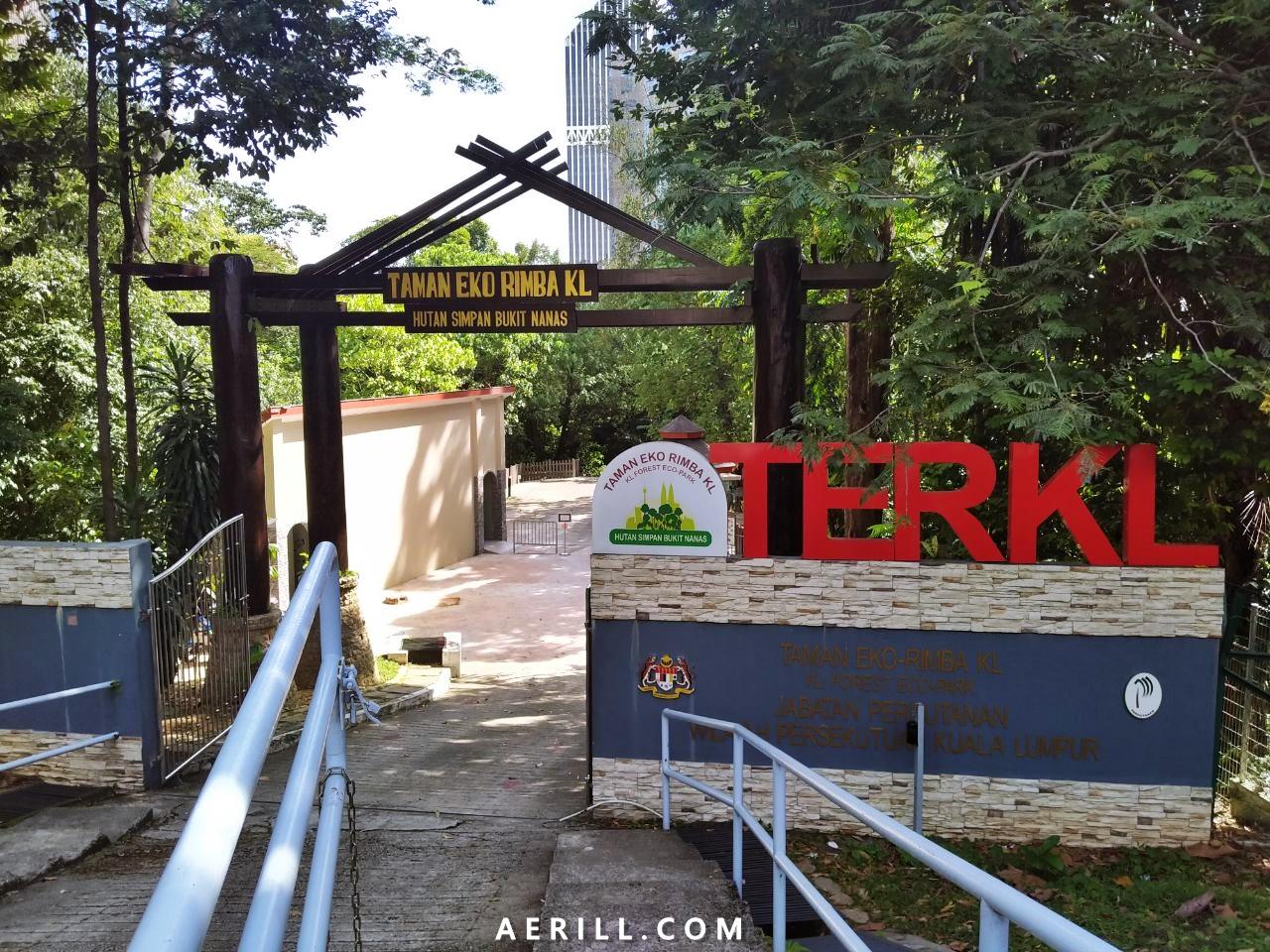 Jalan-Jalan di Taman Eko Rimba Kuala Lumpur : Paru-Paru Hijau Kuala Lumpur