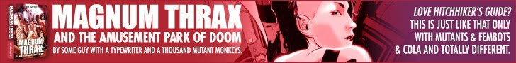 magnum thrax ad banner very funny hitchhikers guide