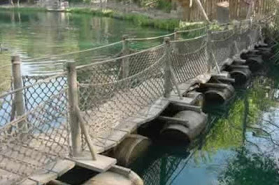 jembatan ponton penerapan hukum archimedes