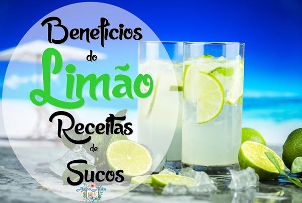 Benefícios do Limão e Receitas de Sucos Com Limão