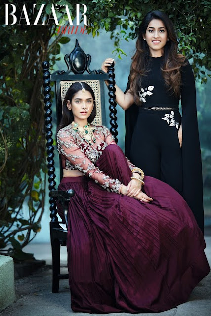 Aditi Rao Hydari On The March 2017 Cover of Harpers Bazaar Bride
