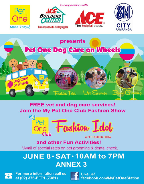 Pet One's Dog Care on Wheels at SM City Pampanga
