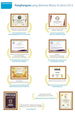 Penghargaan Allianz Tahun 2013