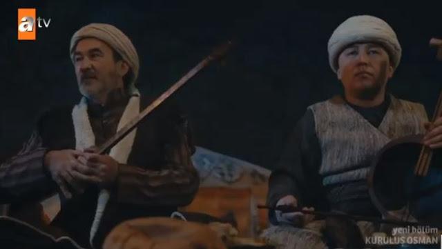 Osman Bey'in Toyunda Ozanın Söylediği Turku