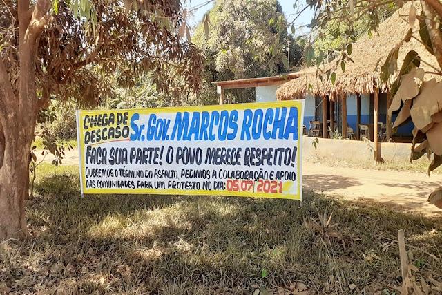 Comunidade anuncia fechamento da Estrada da Penal nesta segunda (5)