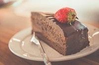 La torta non fa bene alla pelle
