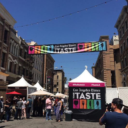 It's Borderline Genius: Treat Yourself to a Food Festival This Labor Day | LA Times The Taste