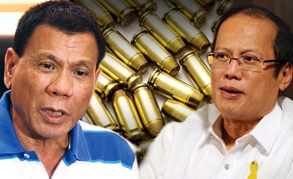 PNoy boomerangs Duterte: Pakiliwanag naman, kuya