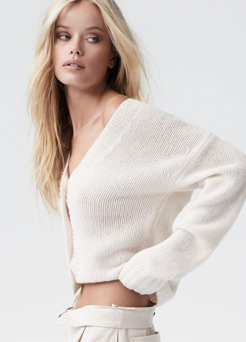 Model Frida Aasen fronts Naked Cashmere spring-summer 2020 campaign