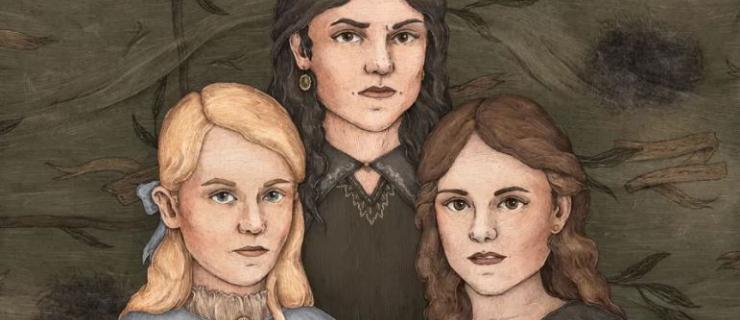 Irmãs Black - Narcisa, Bellatrix e Andrômeda