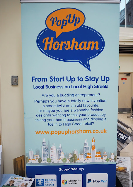Blogger Event: Pop Up Horsham