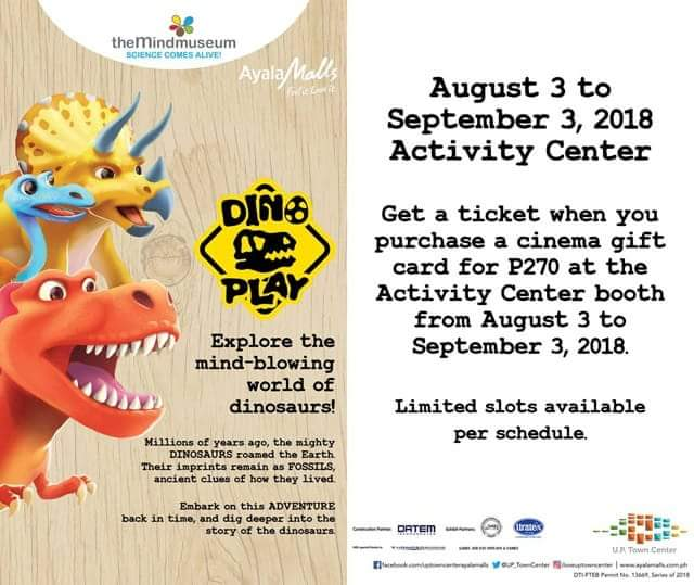 Dino Play at UP Town Center