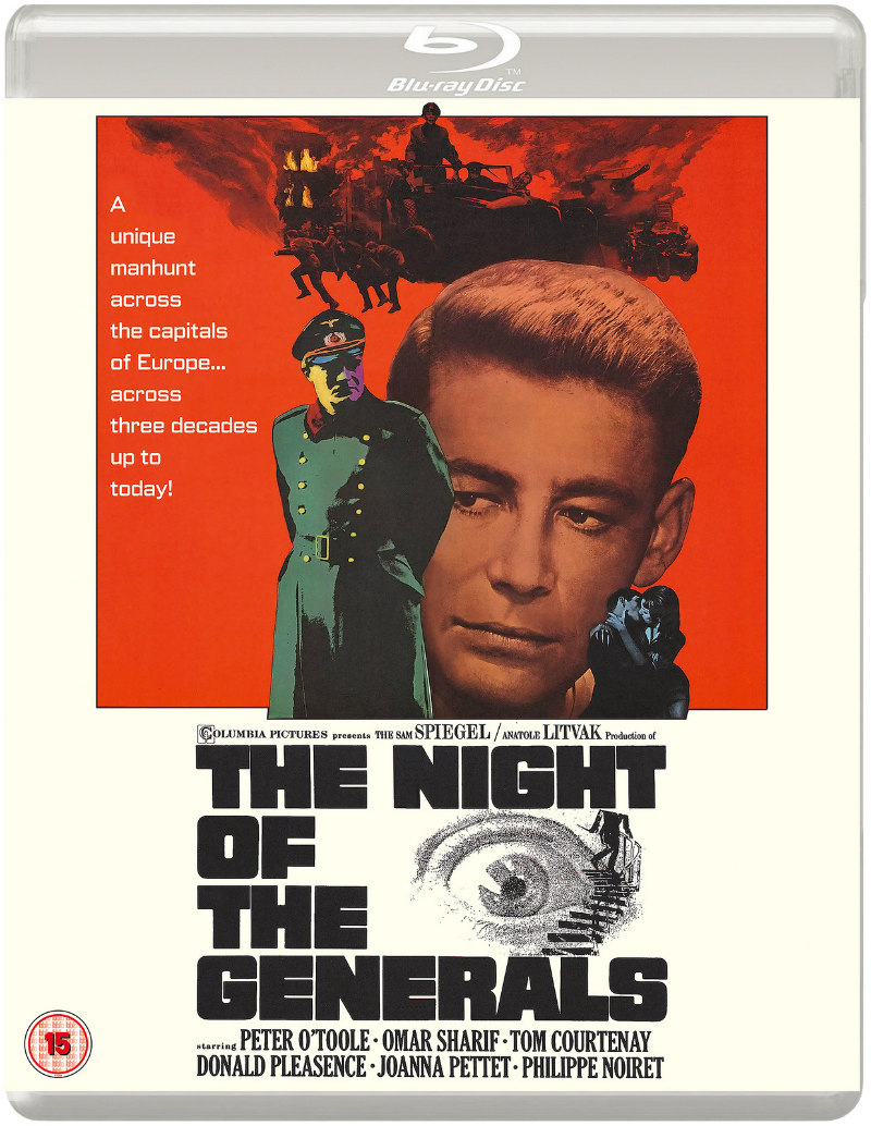 The Night of the Generals bluray