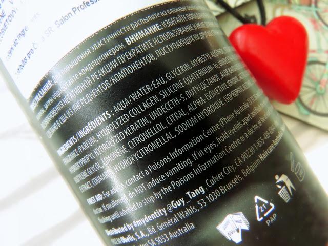 MyDentity MyHero X2 Collagen Repair maska na vlasy zlozenie