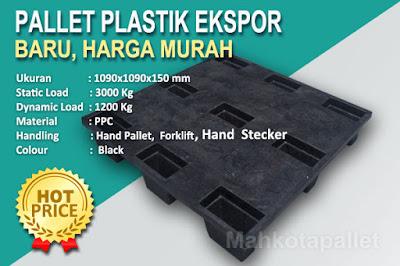 Jual Pallet Plastik Nestable NP 1090 Pallet Ekspor Murah