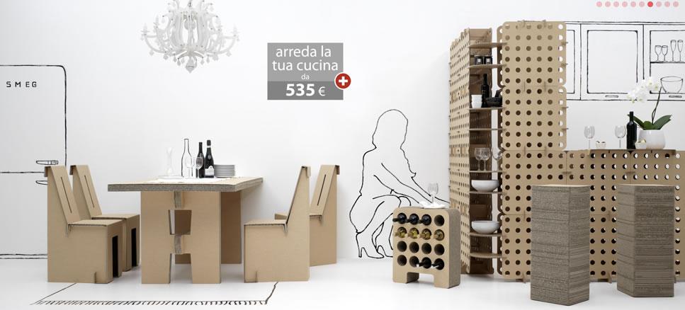 Autocostruzione come arredare casa con una linea di for Casa di mobili