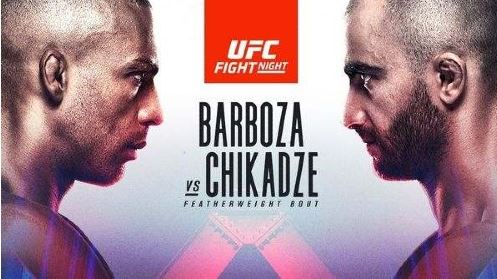 Watch UFC Fight Night on ESPN Barboza vs Chikadze 8/28/2021 Online