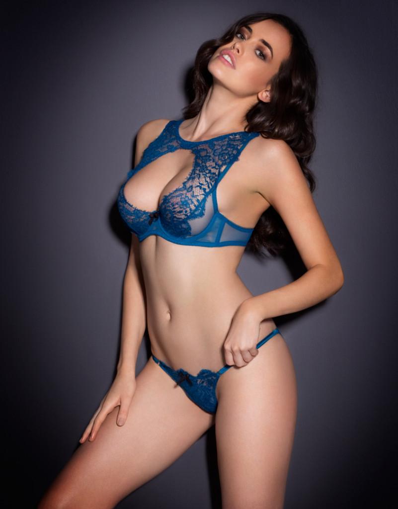 74b4d9dd26 sarah stephens hot model for agent provocateur sexy lingerie photo shoot