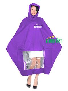 Áo mưa quảng cáo và sự phát triển của nó qua thời gian