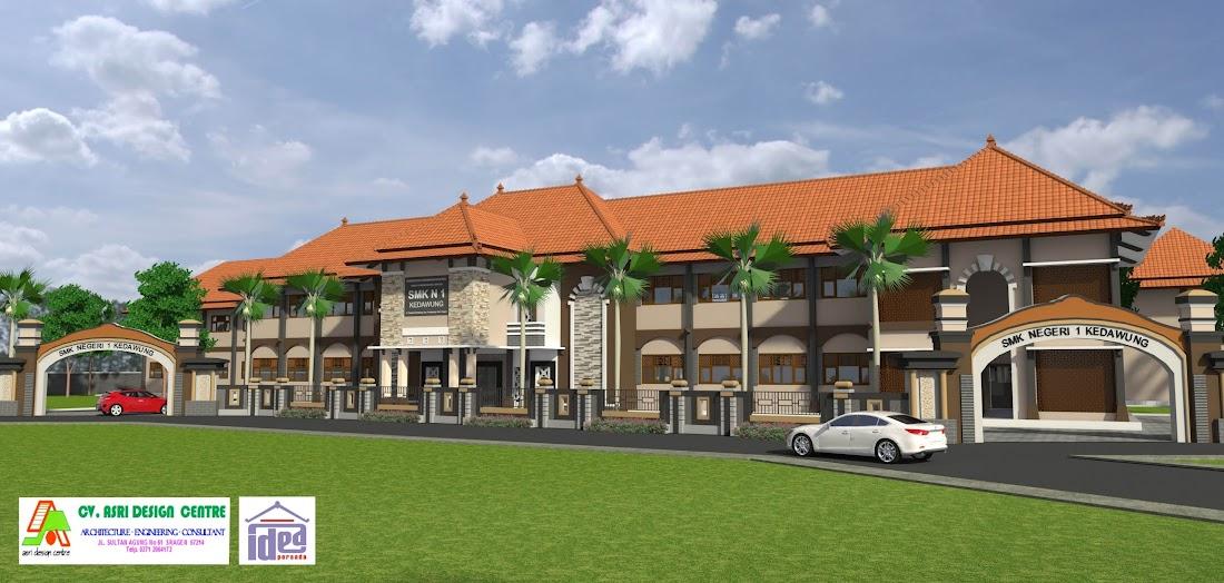 Idea Persada Arsitektur Desain Asrama Ponpes Salman Al Farisi