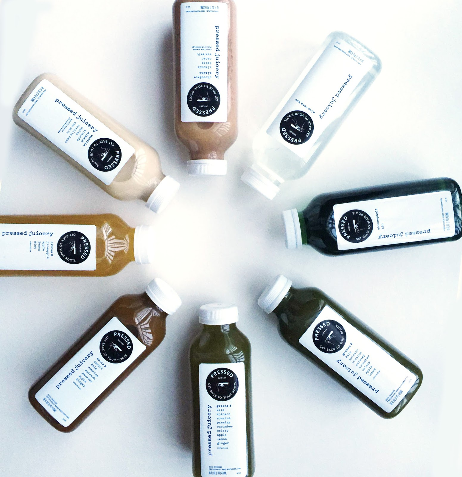 Cleansing with Pressed Juicery