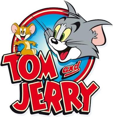 Dibujo de Tom y Jerry en portada