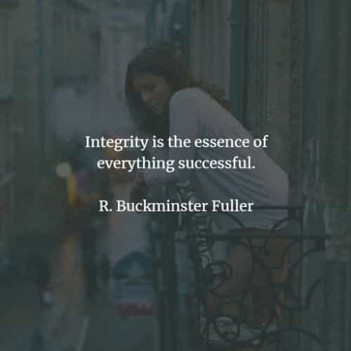 Integrity quotes and sayings that encourage morality