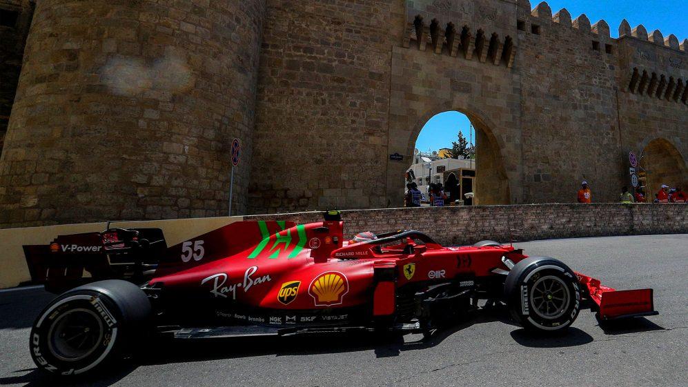 A dupla da Ferrari diz que o ritmo de Baku é melhor do que o esperado - mas acho que a McLaren não mostrou sua mão