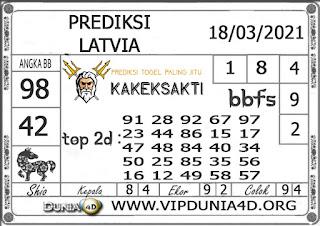 Prediksi Togel LATVIA DUNIA4D 18 MARET 2021