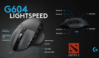 Logitech G604 Lightspeed Mouse Gaming Wireless