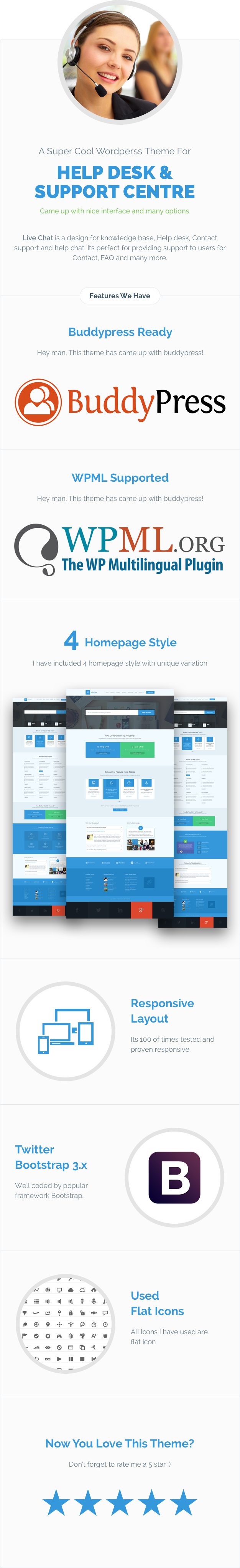 6PXCV1b Live Support - Helpdesk Responsive WordPress Theme theme WordPress