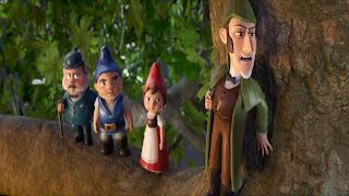 Sherlock Gnomes iPhone Wallpaper