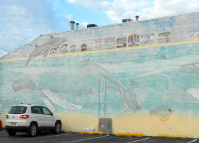David Dunleavy SeaLife Wall Mural in Cape May New Jersey