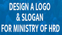 Design a Logo and Slogan for MHRD