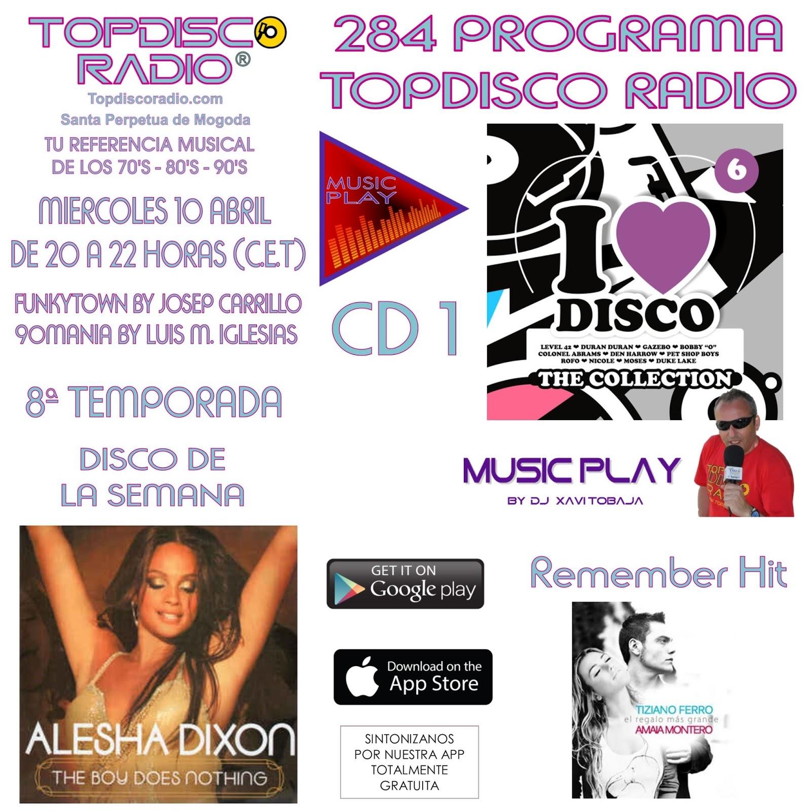 284 Programa Topdisco Radio