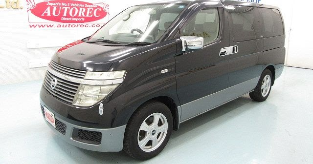 19574A6N8 2003 Nissan Elgrand for Lesotho to Durban ...