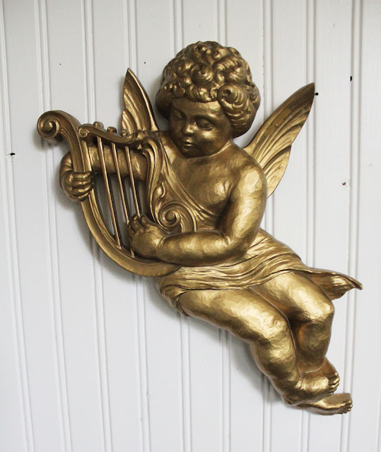 Vintage Cherub Angel Paint Makeover
