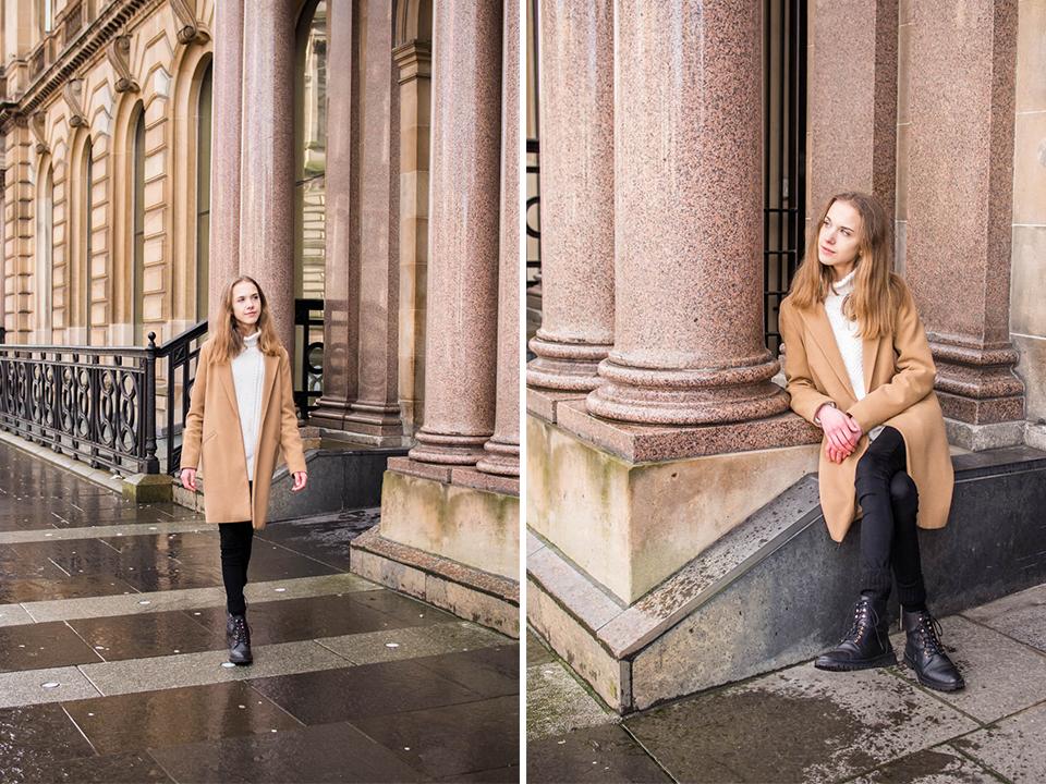Fashion blogger winter outfit - Muoti, bloggaaja, talvi, asuinspiraatio, palmikkoneule