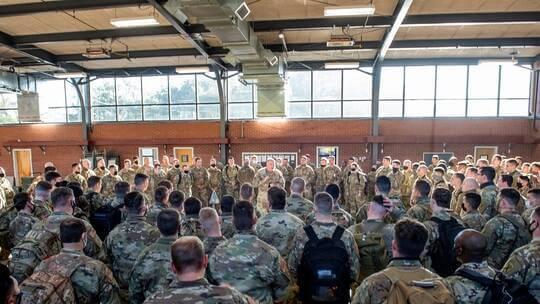 قوات جورجيا الأمريكية تعلن مشاركتها في مناورات عسكرية بالمغرب