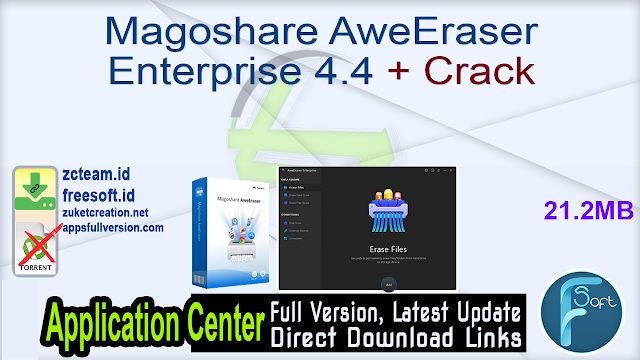 Magoshare AweEraser Enterprise 4.4 + Crack_ ZcTeam.id