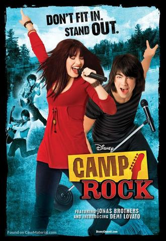 Camp Rock 2008 Dual Audio Hindi 480p BluRay x264 300MB ESubs