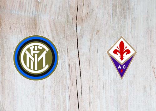 Internazionale vs Fiorentina -Highlights 22 July 2020