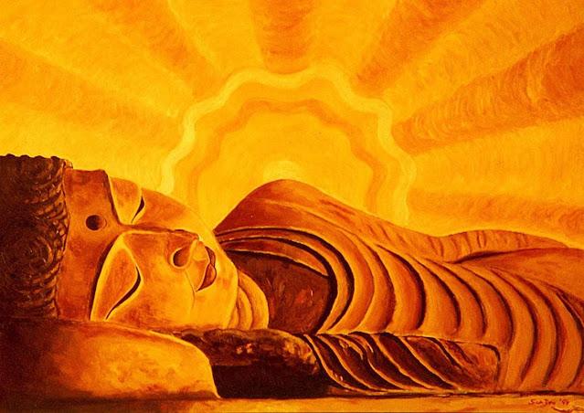 Orange, Color, Buddha
