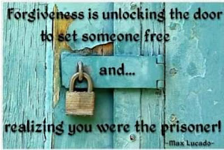 Max Lucado - FORGIVENESS is unlocking the door to set someone free and realizing you were the prisoner - Quotes