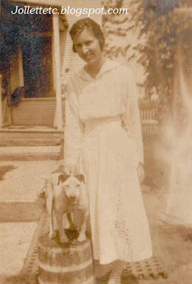 Helen Killeen and dog https://jollettetc.blogspot.com