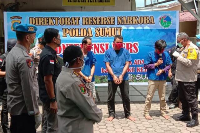 Kurir Narkoba Jaringan Malaysia Mengaku Dijanjikan Upah Rp25 juta
