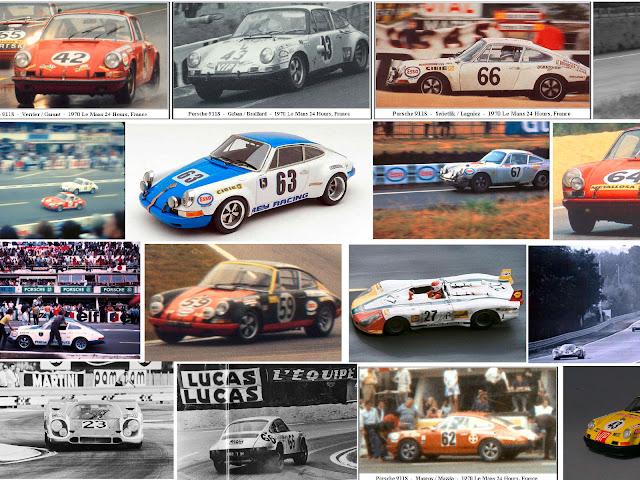Porche 911S 24h Le Mans 1970